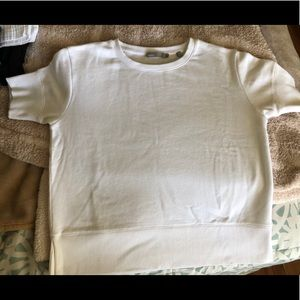 Vince white sweater top